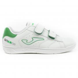 Zapatillas Joma W.Ginkana 915 velcro blanco/verde niño