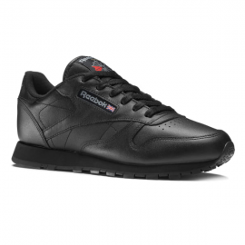 31eb41d909 Zapatillas Reebok Classic Leather negro junior