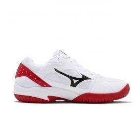 Zapatillas indoor Mizuno Cyclone Speed 2 blanco/negro/rojo