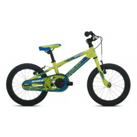 "Bicicleta Coluer Rider 16"" aluminio 1 velocidad Vb verde"