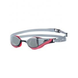 Gafas natación Speedo Pure Focus Mirror rojo/plata unisex