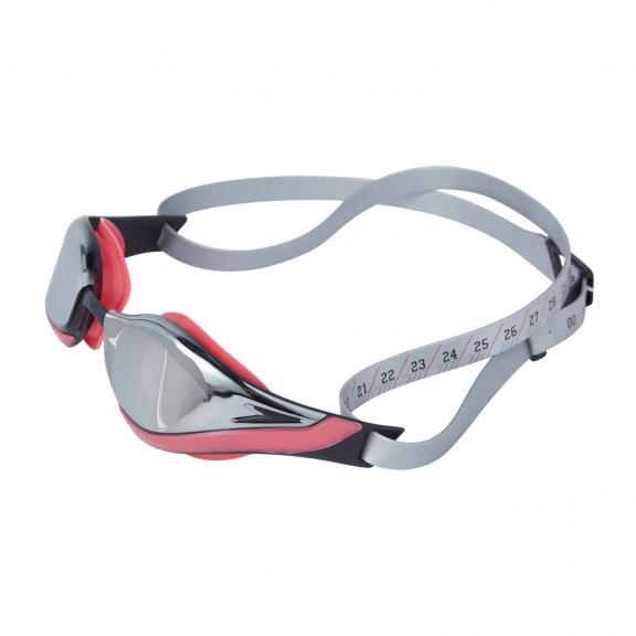 320b31bb5 Gafas natación Speedo Pure Focus Mirror rojo/plata unisex - Deportes ...