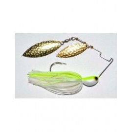 Spinnerbait 4Wind 1/2 oz. c. White Chartreuse