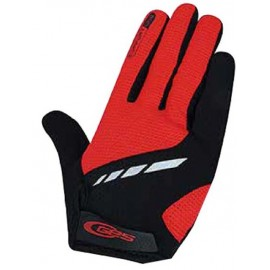 Guante largo Ges Comfort-Line rojo-negro