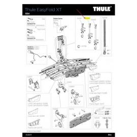 Brazo bici medio Thule 929/934 sin cerradura 52414