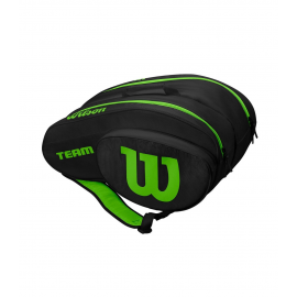 Paletero Wilson Padel Bag negro/verde