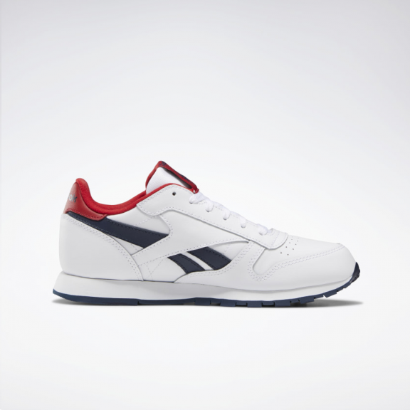 Zapatillas Reebok Classic Leather blancoazulrojo junior