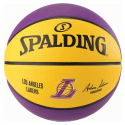 Balon Spalding Nba Team L.A. Lakers talla 7 multicolor