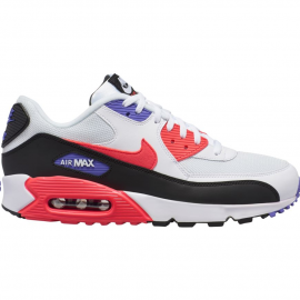 Zapatillas Nike Air Max 90 Essential blanco/negro/rojo hombr
