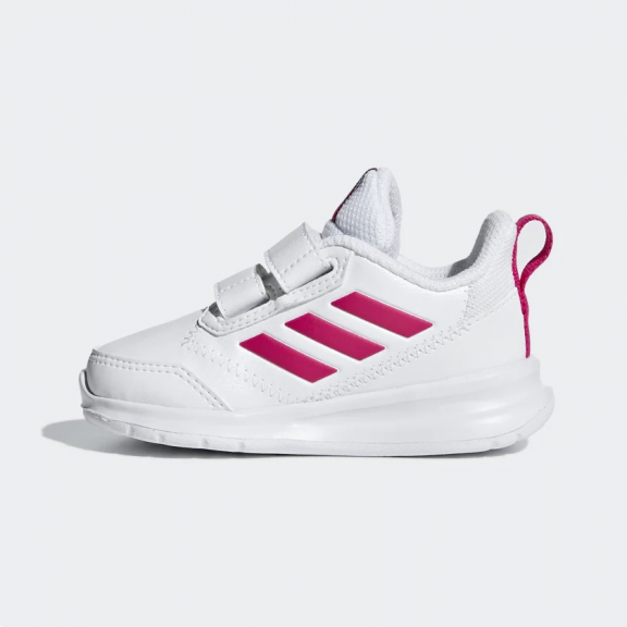 Facturable instante Mayo  Zapatillas adidas Altarun CF I blanco/rosa bebé - Deportes Moya