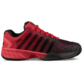 Zapatillas padel K-Swiss Hypercourt Exp HB negro/rojo hombre