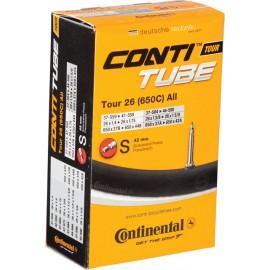 Camara Continental Tour 26 (650C) 26x1,4 a 1,75 presta 42mm