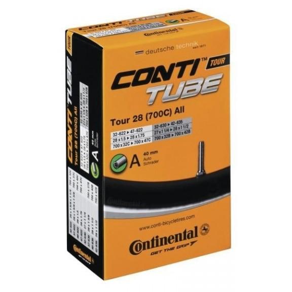 Camara Continental Tour 28 700x32/40 valvula Scharder40 mm