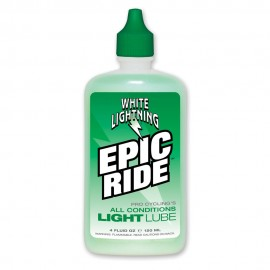Lubricante semi-seco White Lightning Epic Ride 4 oz