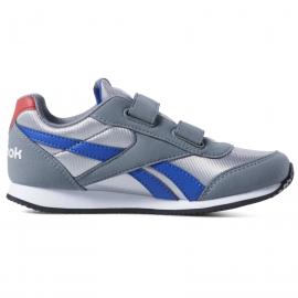 Zapatillas Reebok Royal CL Jog gris/azul niño