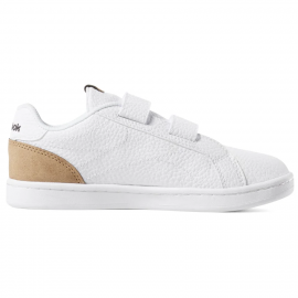 Zapatillas Reebok Royal Comp CLN 2v blanco/marrón niño