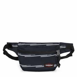 Riñonera Eastpack Bane azul con lineas unisex