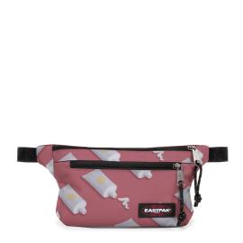 Riñonera Eastpack Talky rosa con bote de crema unisex