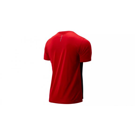 compra especial retro tiendas populares Camiseta running New Balance Accelerate SS roja/negro hombre