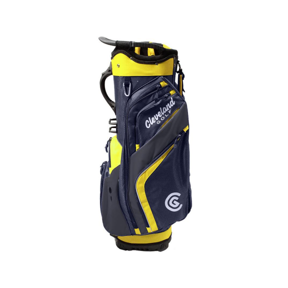8c0aa37010e9 Bolsa de golf Cleveland Friday Cart Bag azul/amarillo - Deportes Moya