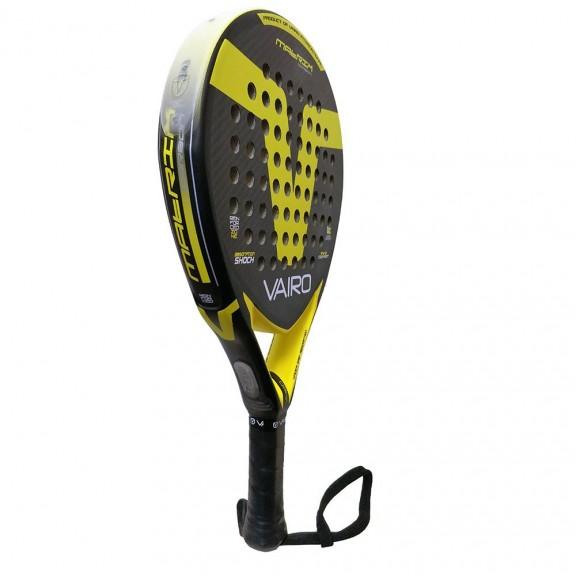 53932c4e Pala de padel Vairo Matrix Carbon negro-amarillo - Deportes Moya