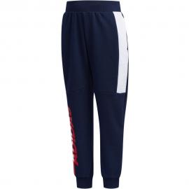 Pantalón adidas Striker azul marino/blanco junior