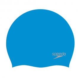 Gorro natación Speedo Plain Moulded Silicone azul claro