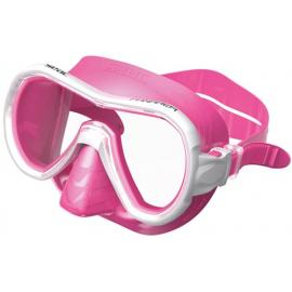 Máscara buceo Seac Panarea Color clear/pink adulto
