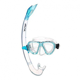 Set snorkel Seac Bella aquamarina adulto
