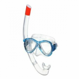 Set snorkel Seac Ischia azul junior