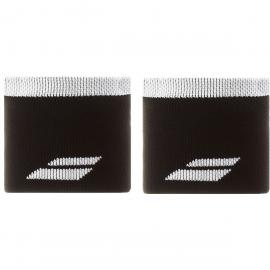 Muñequeras tenis Babolat Logo Wristbrand negro/blanco