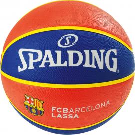 Balón baloncesto Spalding Team FC Barcelona azul/rojo