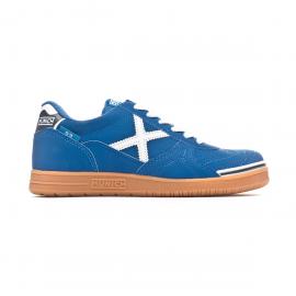 Zapatillas fútbol sala Munich G3 Kid Profit 11 azul/blanco
