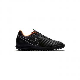 Zapatillas Nike Jr. Tiempo LegendX 7 Club  negro/naranja