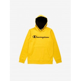 Sudadera Champion capucha 304989 amarillo niño