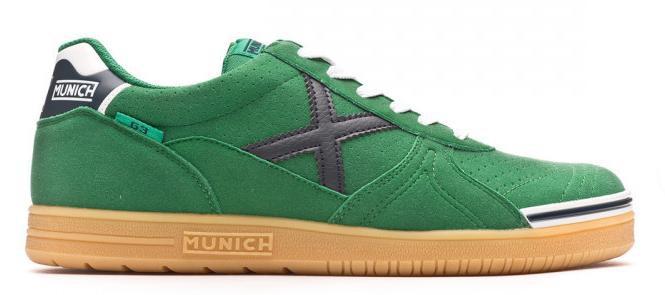 Munich Zapatilla RX 03 Negro Verde Hombre