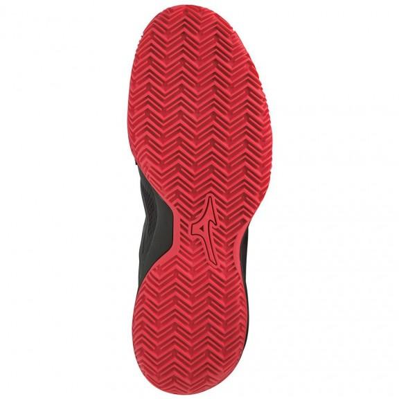 Zapatillas padel Mizuno Intense tour 5 cc negro/rojo hombre