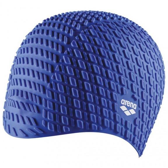 0c899b4febad Gorro Arena Bonnet Silicone azul unisex - Deportes Moya