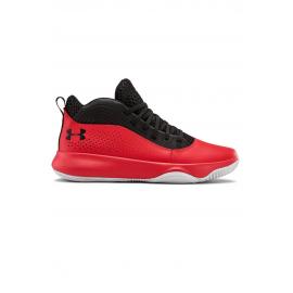 Zapatillas baloncesto Under Armour Lockdown 4 negro/rojo hom