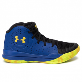 Zapatillas baloncesto Under Armour Jet 2019 azul junior