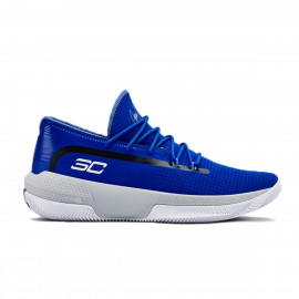 Zapatillas baloncesto Under Armour SC 3ZER0 III azul royal j
