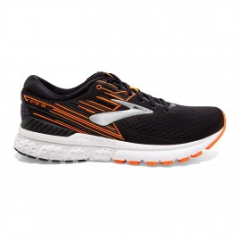 Zapatillas running Brooks Adrenaline GTS 19 negro/naranja