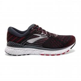 Zapatillas running Brooks Transcend 6 negro/rojo hombre