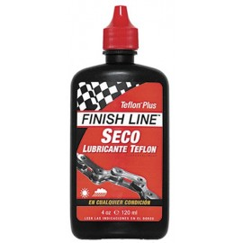 Lubricante Finish Line Teflon Seco bote 4 Oz o 120 ml