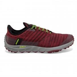 Zapatillas trail running Brooks PureGrit 8 rojo hombre