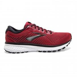 Zapatillas running Brooks Ghost 12 rojo/negro hombre