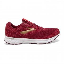 Zapatillas running Brooks Revel 3 rojo mujer