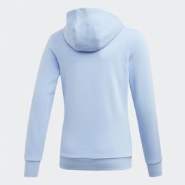 Chándal adidas Hood Cot TS celeste/azul niña