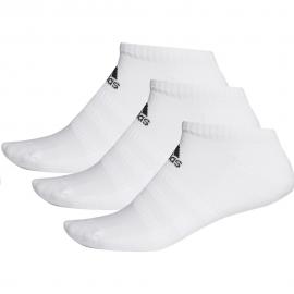 Calcetines adidas Cush Low 3pk blanco unisex