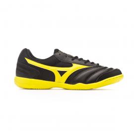 Zapatillas fútbol Mizuno MRL Sala Club IN negro/amarillo hom